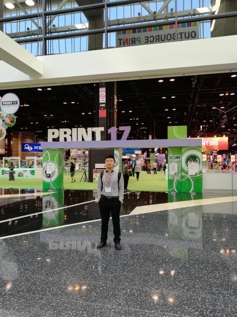 Print 2017 with Customer 7