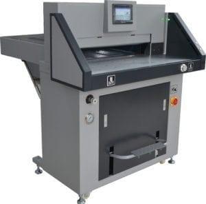 Top hydraulic paper cutter