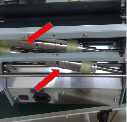 Paper folding machine-creasing option