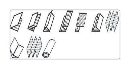 Paper folder-Fold types