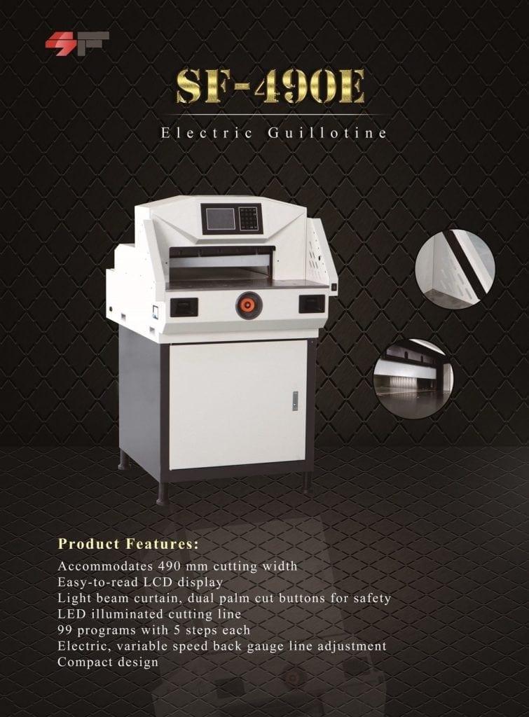 New Electric Paper Cutter