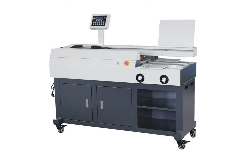 Professional binding machine with 3 rollers
