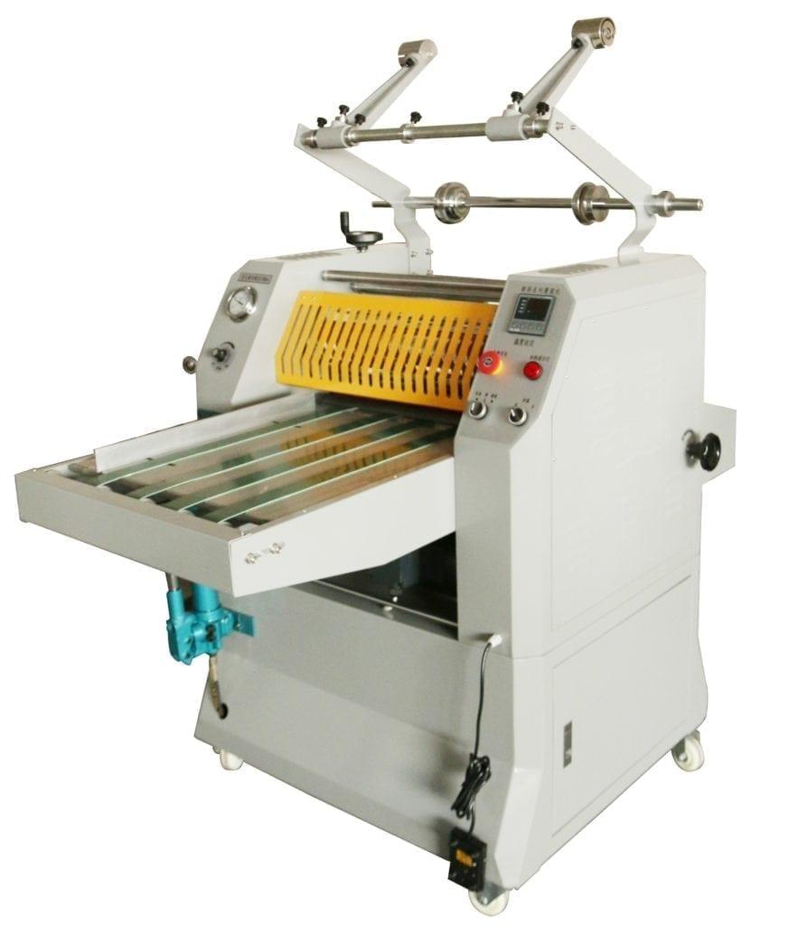 Digi-hydraulic laminator